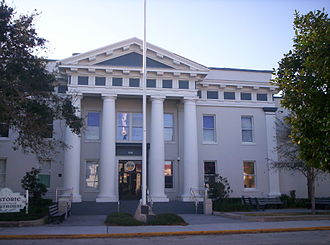 Titusville, Florida - Historic Brevard County Courthouse in 2006
