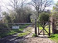 Bridleway from Gallows Corner to Fontmell Parva - geograph.org.uk - 371360.jpg