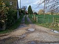 Bridleway meets road - geograph.org.uk - 1602978.jpg