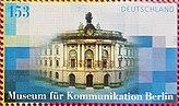 """Briefmarke """"Museum für Kommunikation Berlin""""; Jahr 2002.jpg"""
