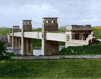 Tubular bridge - Original Britannia Bridge