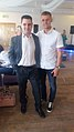 British Actor Christopher Lee Power and his nephew Max Power ( Footballer for Wigan Athletics).jpg