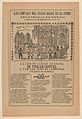 Broadsheet relating to the new clock installed in the cathedral in Mexico City in June 1905 MET DP868035.jpg
