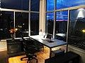 Brooklyn Home Office, Minimized, At Night.jpg