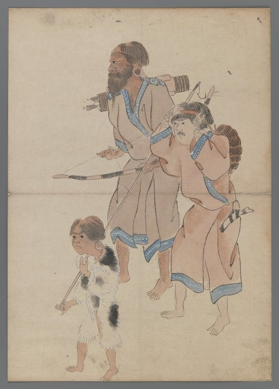 Brooklyn Museum - Ainu Hunters
