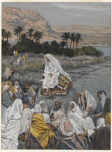 File:Brooklyn Museum - Jesus Sits by the Seashore and Preaches (Jésus s'assied au bord de la mer et prêche) - James Tissot.jpg