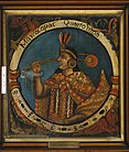 Brooklyn Museum - Mayta Capac, Fourth Inca, 1 of 14 Portraits of Inca Kings - overall.jpg