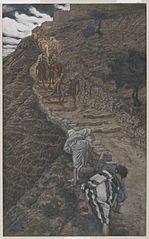 Saint Pierre et Saint Jean suivent de loin