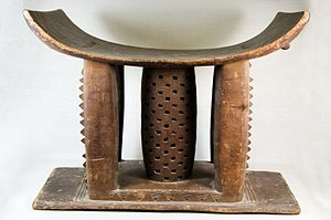 Ashanti Empire - Stool (Dwa), symbol of the Ashanti Kingdom