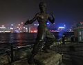 Bruce Lee Statue in Hong Kong.JPG