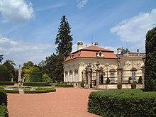 Il Castello di Buchlau (Schloss Buchlovice) oggi, sede dell'incontro Aehrenthal-Izvol'skij del 1908.