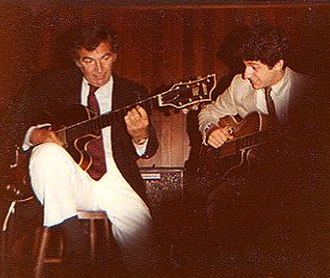 Bucky Pizzarelli - Bucky and John Pizzarelli, Village Jazz Lounge, Walt Disney World