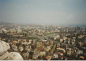 Sashegy - Image: Budapest from Sashegy 01
