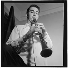 Buddy De Franco, New York, ca. Sept. 1947 (William P. Gottlieb 01941).jpg