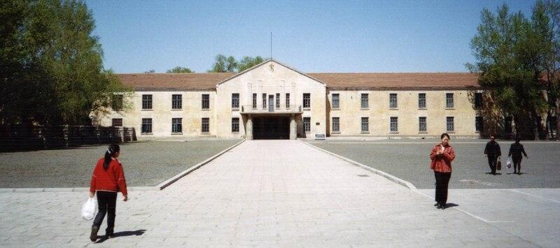 Една от сградите, отворена за посещение