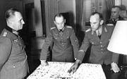 Bundesarchiv Bild 101I-718-0149-12A, Paris, Rommel, von Rundstedt, Gause und Zimmermann