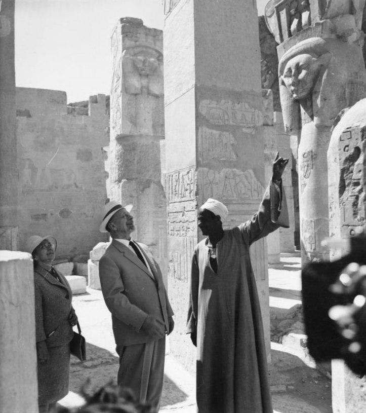 Bundesarchiv Bild 183-D0227-0053-004, Ägypten, Besuch Walter Ulbricht