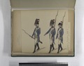 Burgerij van Amsterdam, 1785. I- Sergeant der Grenadiers, Grenadier en Musketier (NYPL b14896507-93411).tiff