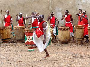 Karyenda - Traditional Burundian drummers
