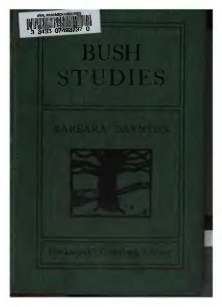 File:Bush Studies (1902).djvu