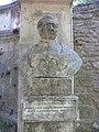 Bust de Pierre Marie Auguste Broussonet al Jardí Botànic de Montpeller.JPG