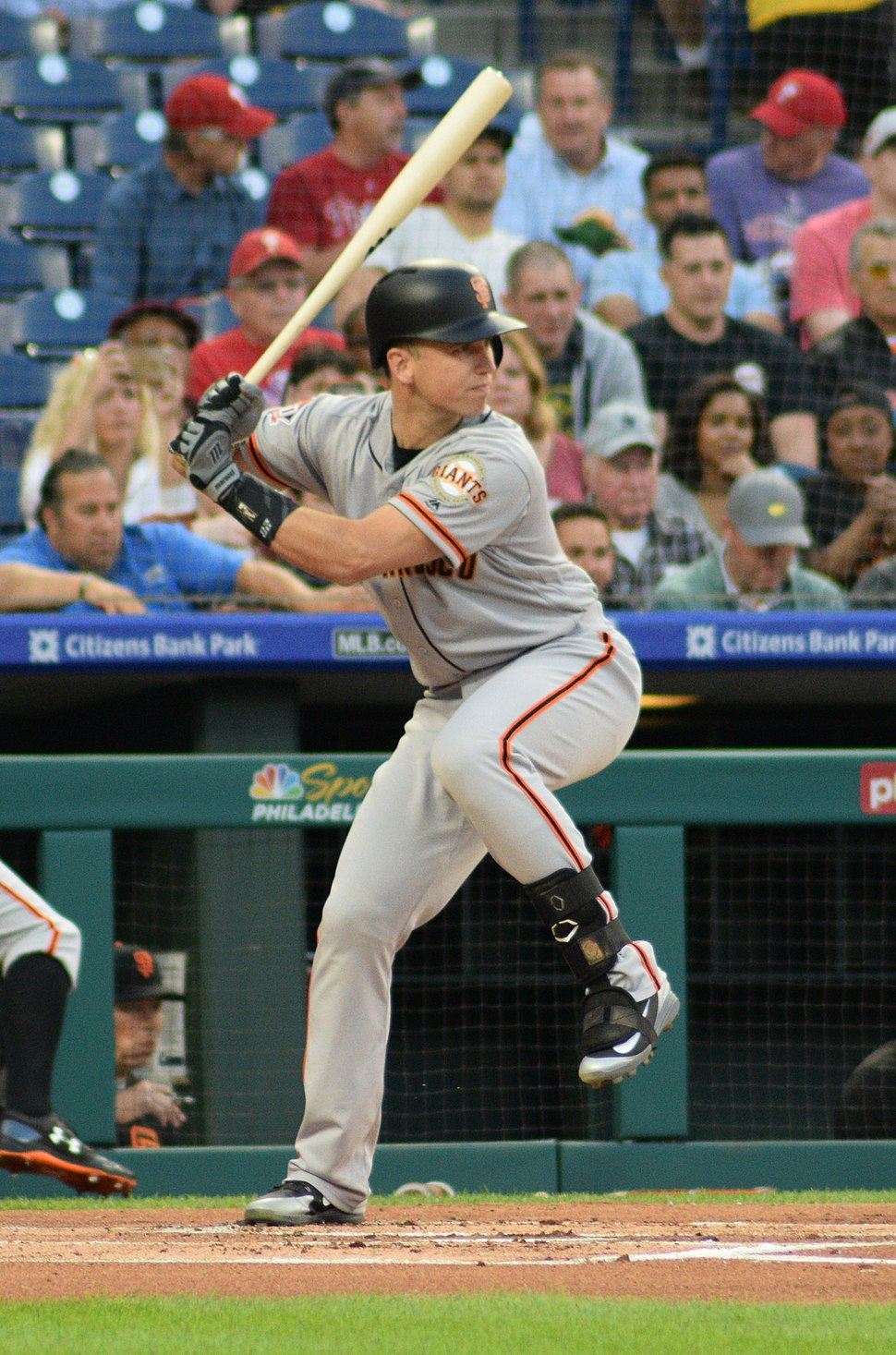 Buster Posey in 2018 (cropped)