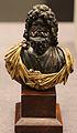 Busto di serapide, II sec dc., bronzo.JPG