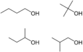 3 isomers of butanol In the following pairs of isomers, which one would be expected to have the highest viscosity a) 2-butanone, ch 3 coch 2 ch 3 vs methyl allyl ether, ch 3 och 2 chch 2 b) pentane, ch 3 ch 2 ch 2 ch 2 ch 3 vs octane, ch 3 ch 2 ch 2 ch 2 ch 2 ch 2 ch 2 ch 3 c) dimethoxyethane, ch 3 och 2 ch 2 och 3 vs 1,3-butanediol, hoch.