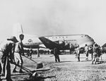 C-124A Globemaster during tests in Korea 1951.JPEG