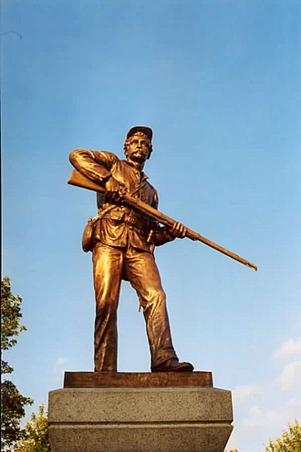 Caspar Buberl - 111th NY Infantry Monument
