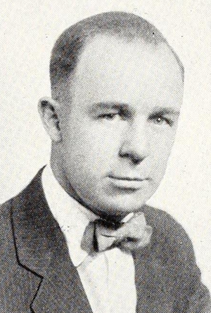 Clifford E. Horton - Horton pictured in The Index 1924, Illinois State yearbook