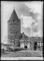 CH-NB - Estavayer-le-Lac, Château Chenaux, vue partiellle extérieure - Collection Max van Berchem - EAD-6881.tif