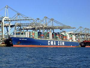 CMA CGM Norma IMO 9299812, Port of Rotterdam, Holland, 06JAN2009 pic4.JPG