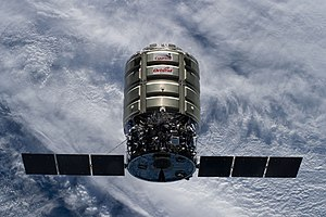 CRS Orb-2 Cygnus 3 S.S. Janice Voss approaches ISS (ISS040-E-069311).jpg