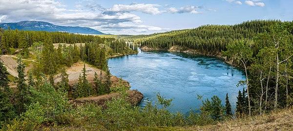 Miles Canyon, Yukon, Canada
