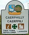 Caerphilly boundary sign - geograph.org.uk - 2703751.jpg