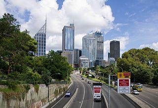 expressway in Sydney