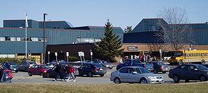 Cairine Wilson Secondary School - Image: Cairine Wilson HS from parking lot