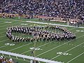 Cal Band performing at halftime at UCLA at Cal 10-16-04 2.JPG