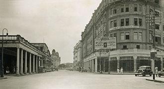 Park Street, Kolkata - Park Street in the 1930s