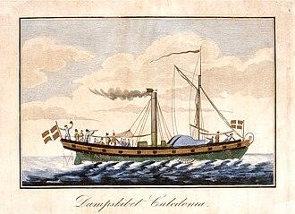 1819 in Denmark - Caledonia