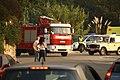Camión motobomba de bomberos de Protección Civil de Porriño, en la parroquia de Vincios, Gondomar (37688041812).jpg
