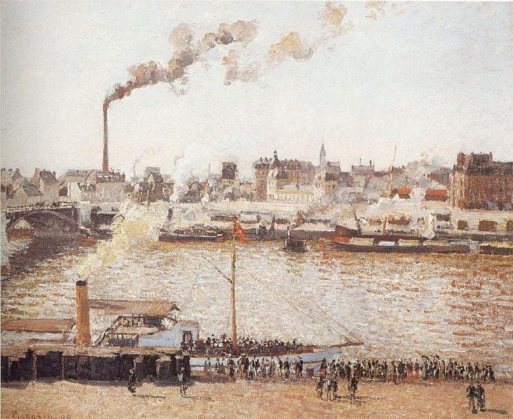 File:Camille Pissarro (1830-1903) - 'View of Rouen', 1898.jpg