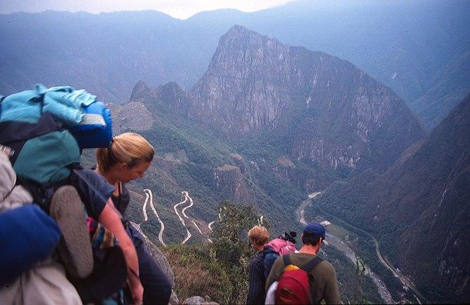 es: Camino Inca de Cusco a Machu Picchu (Perú)...