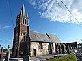 Campagne-lès-Wardrecques (Pas-de-Calais, Fr) église Saint-Martin.JPG