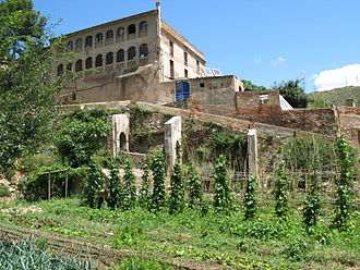 Social center - Can Masdeu has some of the largest community gardens in Barcelona.