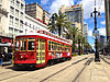 Canal Streetcar in New Orleans, Louisiana, USA.jpg