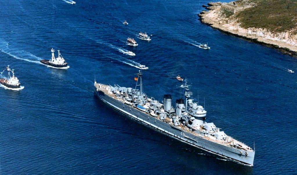 Canarias sur le point de partir à la casse en 1977