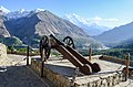 Cannon outside Baltit Fort.jpg