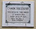 Canon Sheehan birthplace plaque, Mallow, co Cork, Ireland.JPG